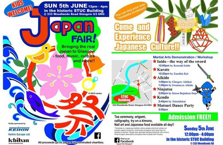 Japan Fair Glasgow