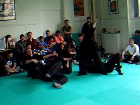 Self-defense skills shown in Glasgow