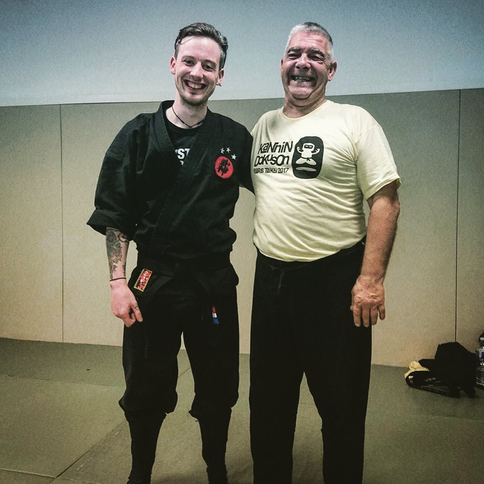 Kizen Dojo's newest Bujinkan instructor, Bryan Kirk